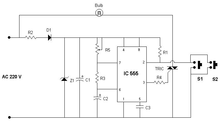 Automatic Staircase Light Circuit - Wiring Diagrams DataUssel